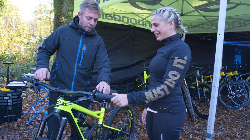Afan Valley Bike Shed Demo Event 02